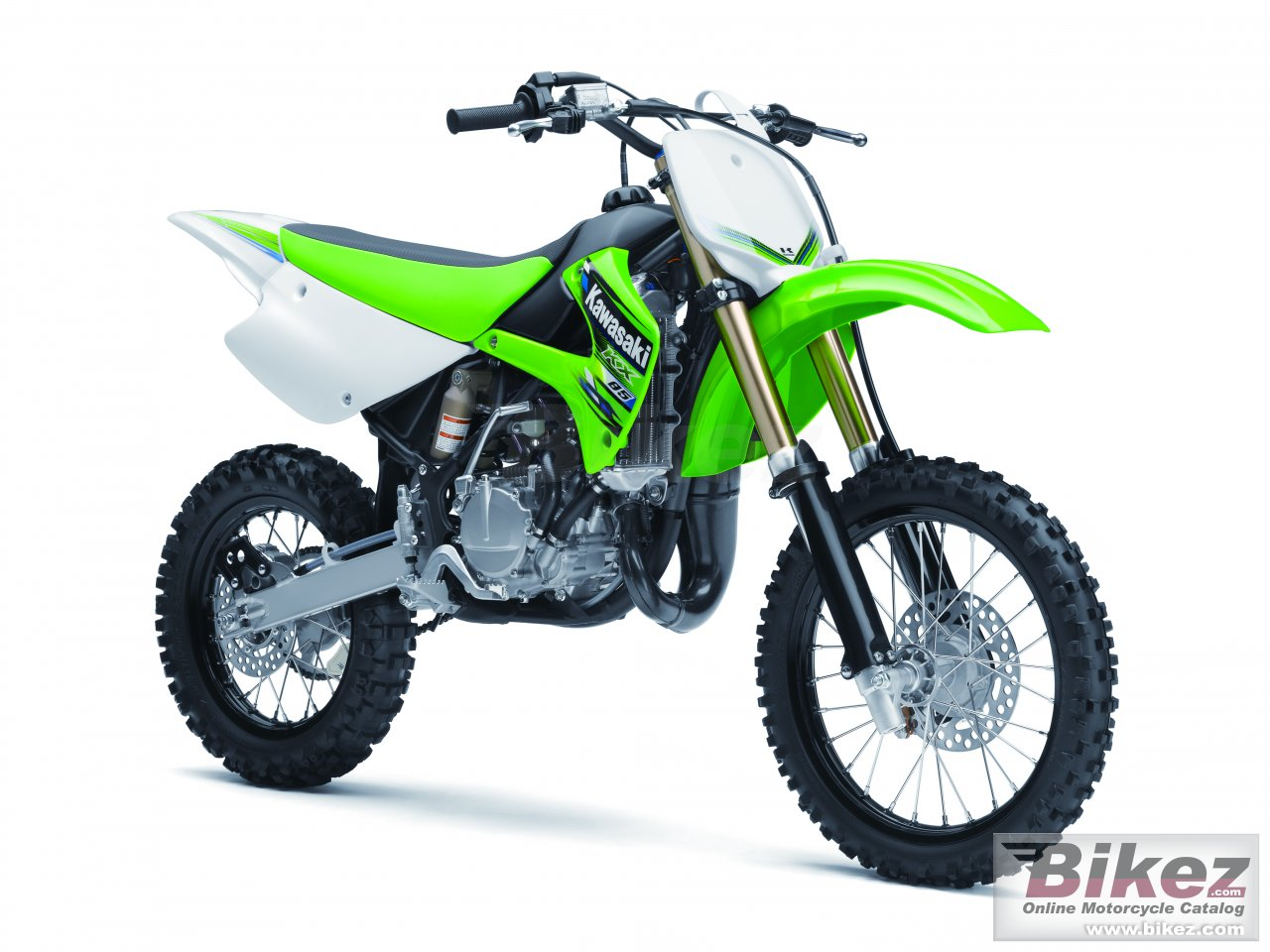 Big Kawasaki kx 85 picture and wallpaper from Bikez.com