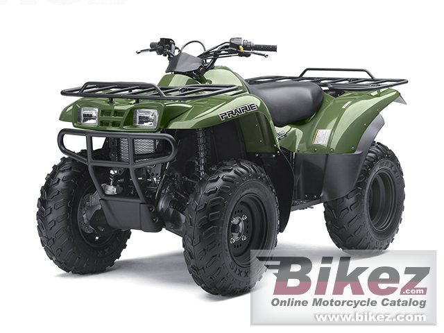 Big Kawasaki prairie 360 4x4 picture and wallpaper from Bikez.com
