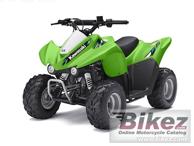 Big Kawasaki kfx 50 picture and wallpaper from Bikez.com