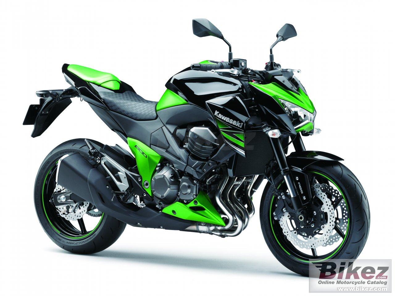 Big Kawasaki z800 picture and wallpaper from Bikez.com