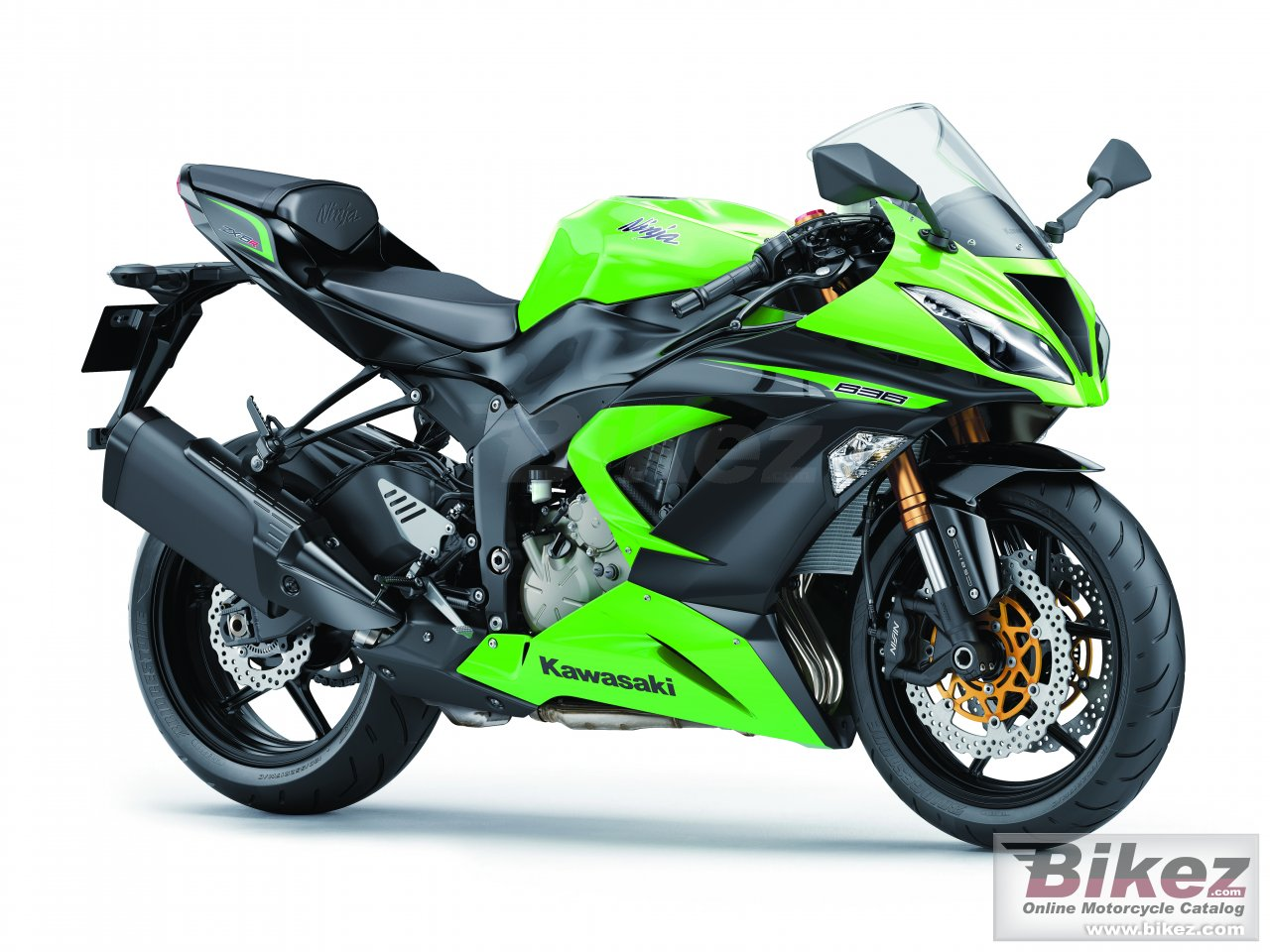 Big Kawasaki ninja zx-6r 636 picture and wallpaper from Bikez.com