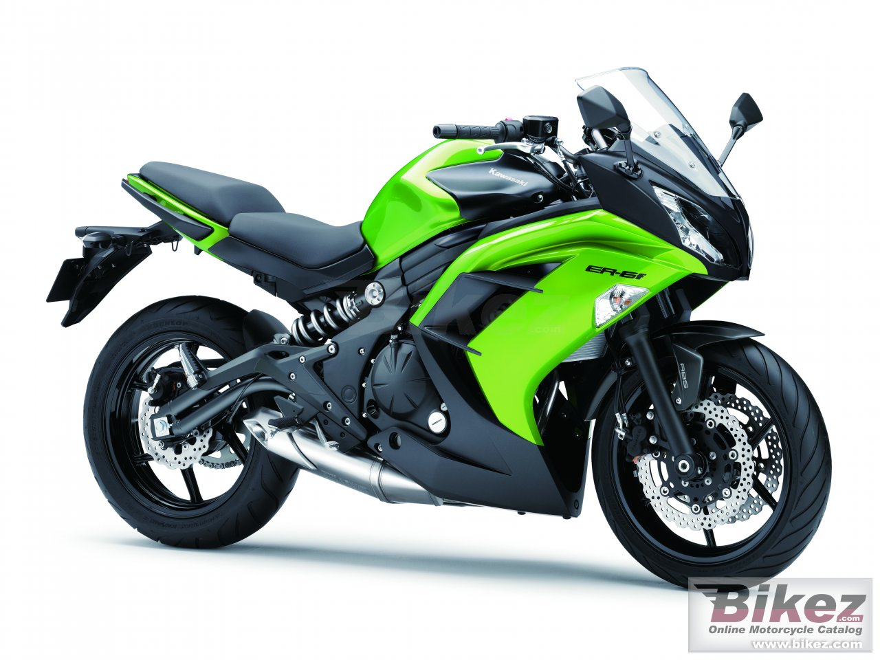 Big Kawasaki er-6f picture and wallpaper from Bikez.com