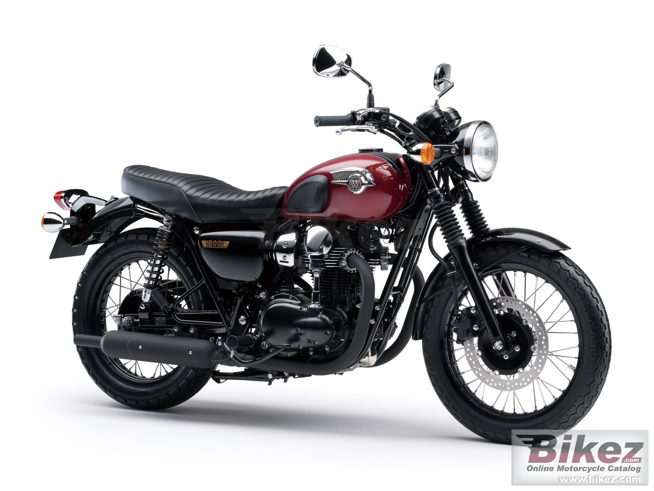 Big Kawasaki w800 special edition picture and wallpaper from Bikez.com