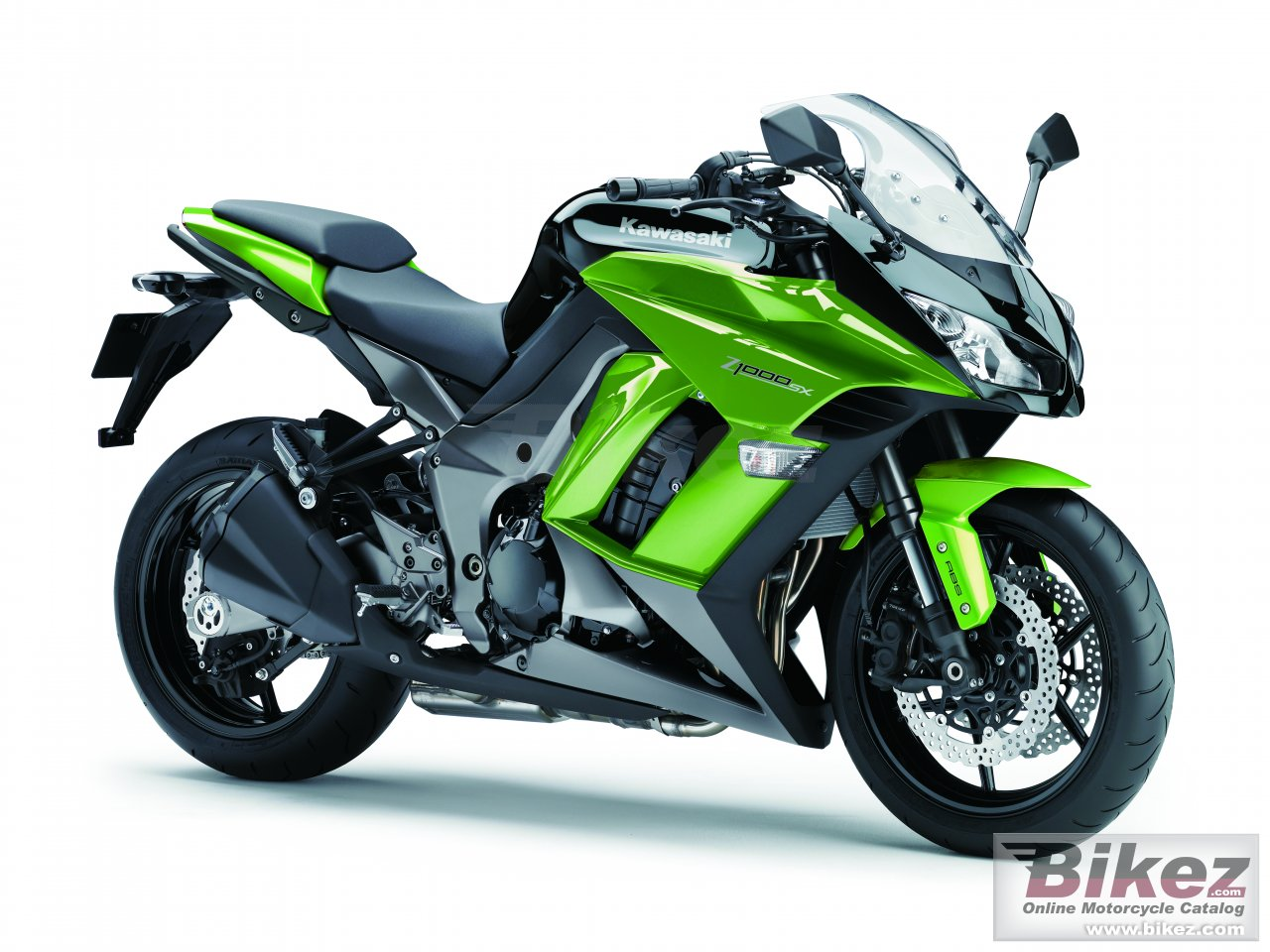 Big Kawasaki z1000 sx picture and wallpaper from Bikez.com