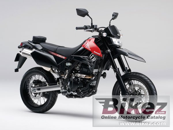 Big Kawasaki d-tracker x picture and wallpaper from Bikez.com