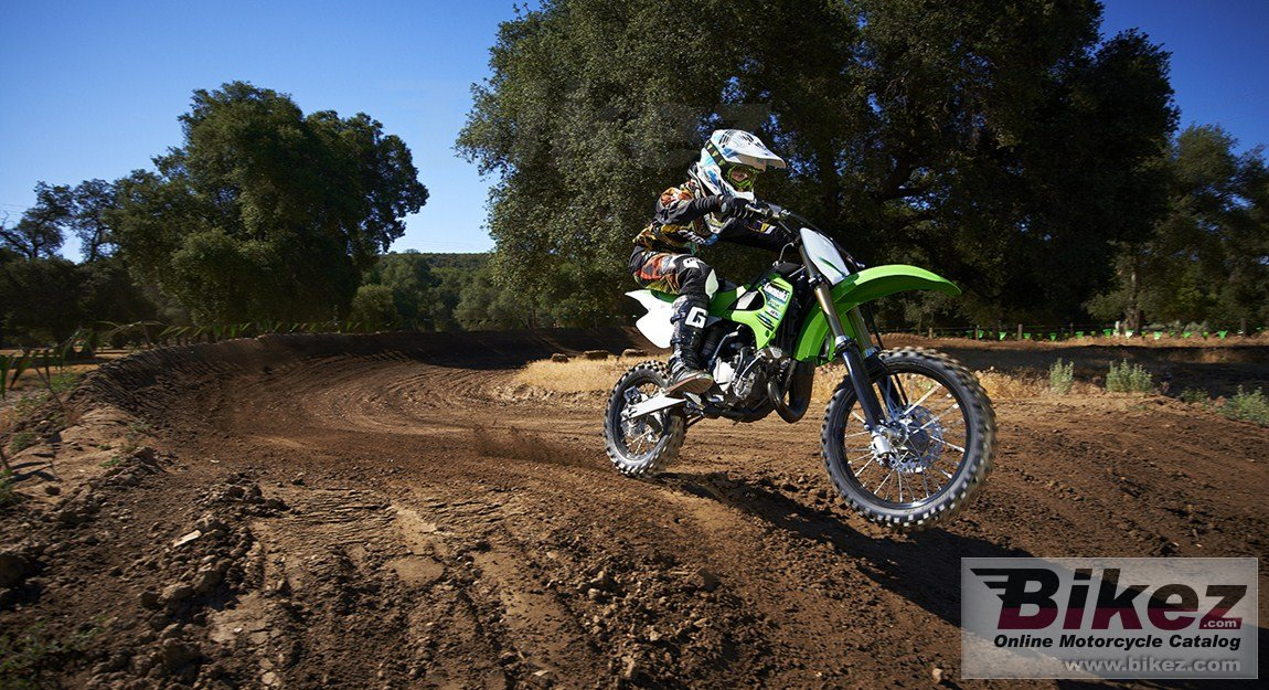 Big Kawasaki kx85-ii picture and wallpaper from Bikez.com