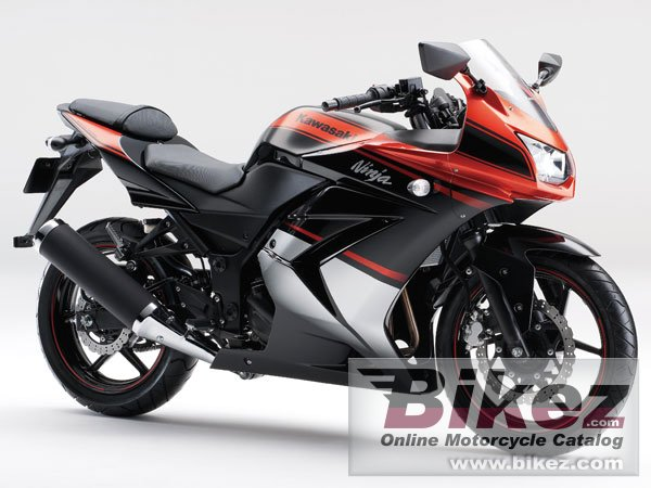 Big Kawasaki ninja 250r special edition picture and wallpaper from Bikez.com