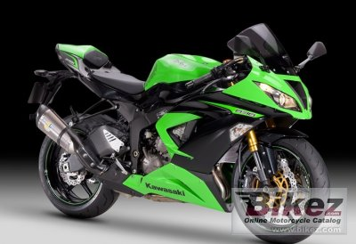 2013 Kawasaki Ninja ZX-6R 636 Performance photo
