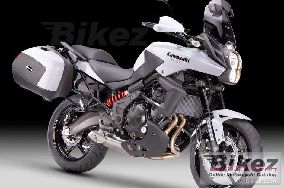 Big Kawasaki versys tourer picture and wallpaper from Bikez.com