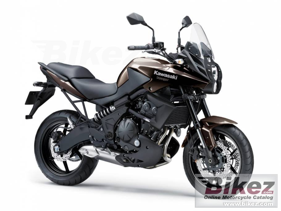 Big Kawasaki versys 650l abs picture and wallpaper from Bikez.com