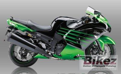2015 Kawasaki Ninja ZX-14R Ohlins