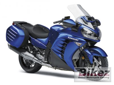2017 Kawasaki 1400 GTR specifications and pictures