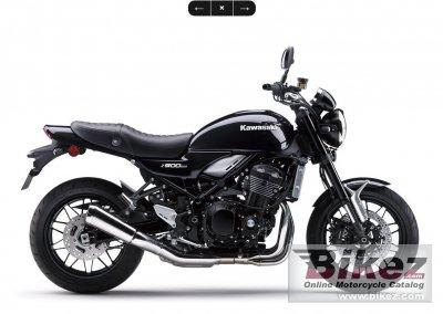 2020 Kawasaki Z900RS Black Edition