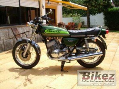 Kawasaki 500 H