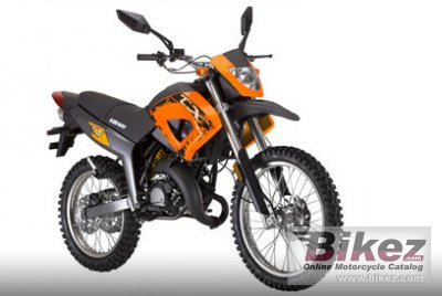 2009 Keeway TX50 Enduro photo