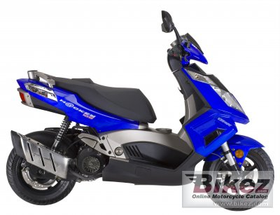 2010 Keeway Hacker 125 photo