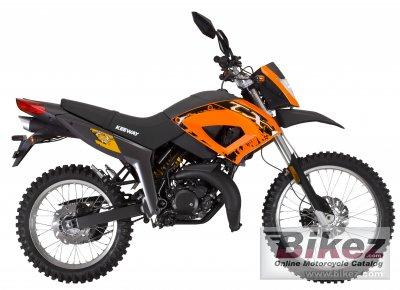 2012 Keeway TX125 Enduro