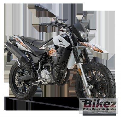 2016 Keeway TX 125 Supermoto