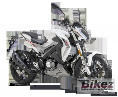 2018 Keeway RKF 125 specifications and pictures