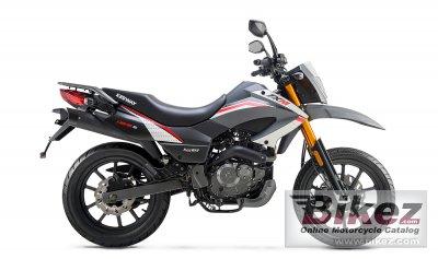 2021 Keeway TX 125 Supermoto E4