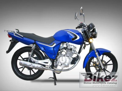 2010 Kinroad XT125-CE War Dragon photo