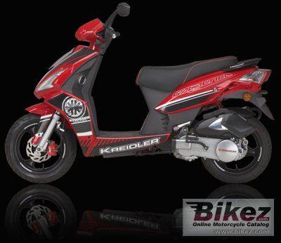 2009 Kreidler RMC-H 50 DD Galactica photo