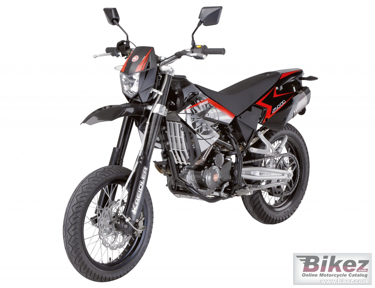 Big Kreidler supermoto125 dd picture and wallpaper from Bikez.com