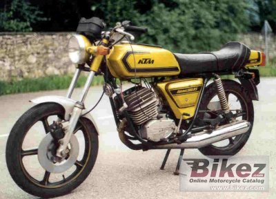 1975 KTM Comet Grand Prix 125 RS photo