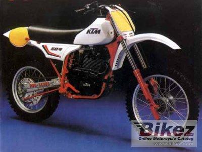 1982 KTM 500 K 4 Enduro