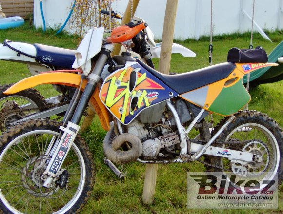 1992 KTM Enduro 250 TVC photo