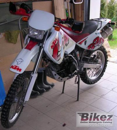 1997 KTM LC4 EGS