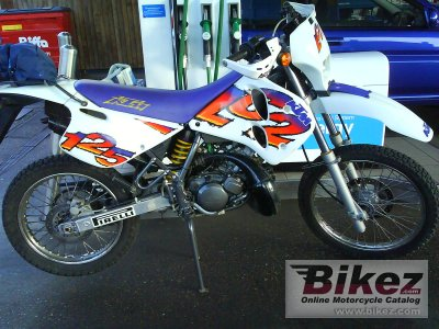 1998 ktm 125 lc2 specifications and pictures