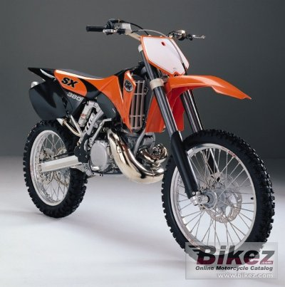 1998 ktm 380 sx specifications and pictures