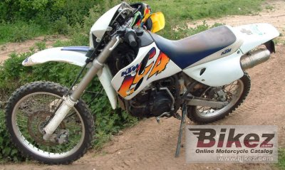 1998 ktm 620 egs specifications and pictures
