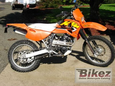 1998 ktm 620 lse specifications and pictures