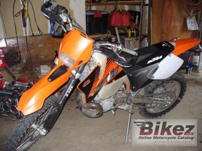 2000 KTM 300 EXC specifications and pictures