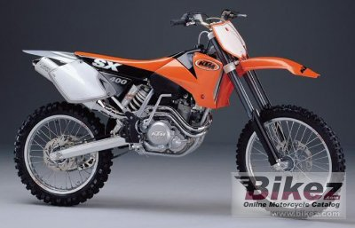 2000 KTM 400 SX Racing photo