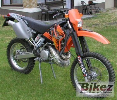 2000 ktm 380 exc specifications and pictures