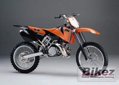 2000 ktm 380 sx specifications and pictures