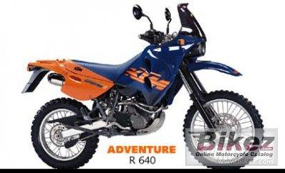 2000 KTM 640 LC4 Adventure R