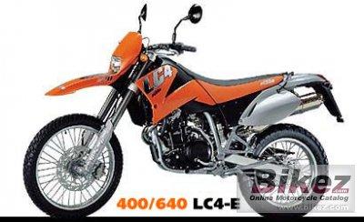 2000 KTM 640 LC4 E
