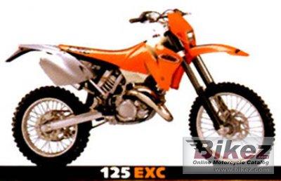 2001 KTM 125 EXC
