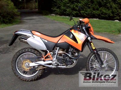 2001 KTM LC4-E 640 Enduro photo