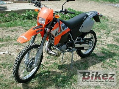 2001 KTM EXE 125 Supermoto photo