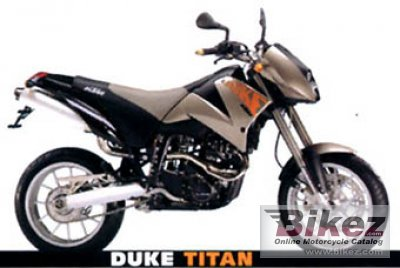 2001 ktm duke ii 640 specifications and pictures