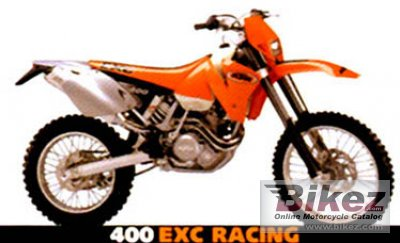 2001 KTM EXC 400 specifications and pictures c2de01d3c1