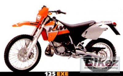 2001 ktm exe 125 enduro specifications and pictures. Black Bedroom Furniture Sets. Home Design Ideas
