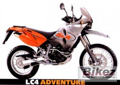 2001 KTM LC4 Adventure 640