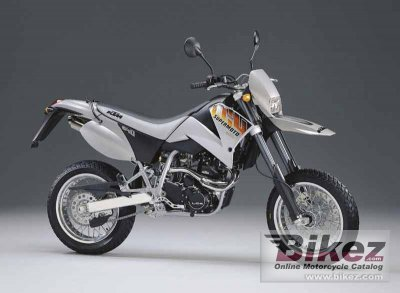 2001 KTM LC4-E 640 Supermoto specifications and pictures