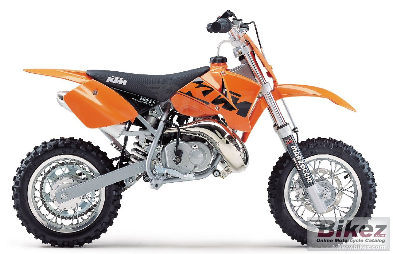 The respective copyright holder or manufacturer 50 sx pro junior lc